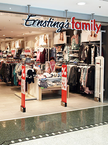 Bild EKT Farmsen Shop Ernstings Family